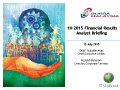 1H 2015 Financial Results