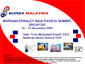 Morgan Stanley Asia Pacific Summit, Singapore